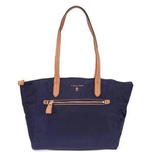 Michael Kors Navy Kelsey Tote Bag